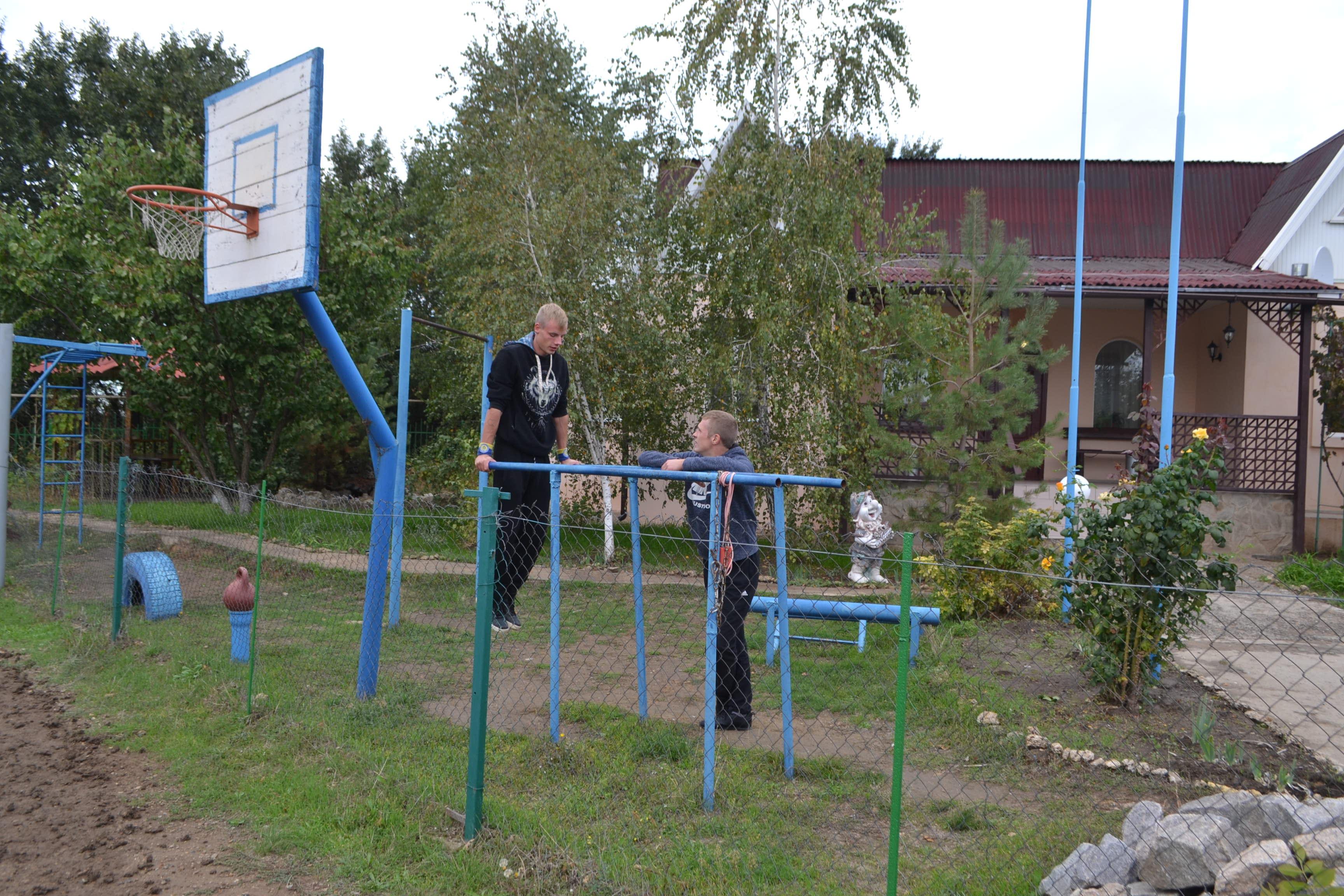 Тренировки у воспитанников центра